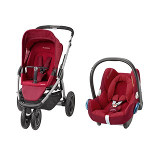 Maxi-Cosi Mura Plus 3 Travel Sistem Bebek Arabası / Robin Red