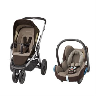 Maxi-Cosi Mura Plus 3 Travel Sistem Bebek Arabası / Walnut Brown